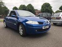 Renault megane 1.9 dci diesel 2006 - MOT&TAX - drives good - not focus golf a3 307 cords Leon Astra