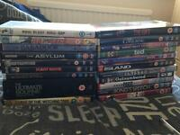 Job lot of DVDs all in working order