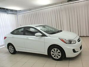 2016 Hyundai Accent GL ECO SEDAN w/ BLUETOOTH, HEATED SEATS AND