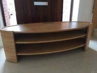 Tom Schneider - Elliptical 1400 Oak TV Stand