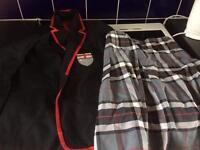 Girls blazers and kilt for University Academy high school