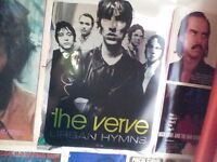 The Verve Urban Hymns Mirrored Music Poster