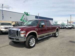 2008 Ford F-350 Lariat Power Stroke Diesel 4WD Only 163,000KM