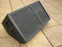 Wedge monitor for pub, venue, or band fitted with 15'' 12 drivers Plus 8'' horn