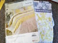 Brand new single bedding set. Yellow