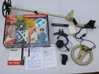 *FULLY WORKING GOOD USED CONDITION MINELAB EXPLORER XS METAL DETECTOR & ACCESSORIES*