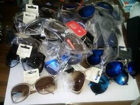 Box sun glasses and phone cases