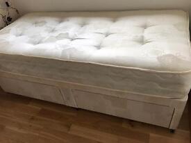 Single divan bed - brand new