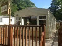 Static caravan for sale North Wales - Site fees paid till 2020
