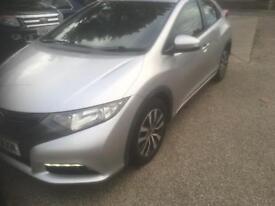 2013 63 Honda civic es 1.6 d-tec 5 door. (DIESEL)