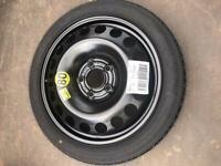 "Genuine New Vauxhall Space Saver Spare Wheel 16"" - Corsa Vectra Astra Insignia Mokka Meriva 5x110"