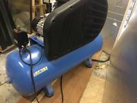 NU Air compressor. NB5/200Ltr5.5hp go
