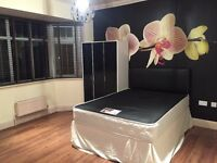 DOUBLE FULLY FURNISHED BEDROOM TO RENT IN FAMILY HOME LOCATED IN QUEENS PARK/CHARMINSTER