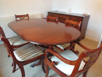 Dining tables,chairs & sideboard
