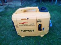 Generator - very low noise - only used for one camping trip - excellent condition