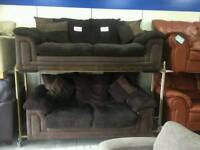 New ex display dfs sofabed plus matching sofa delivery free