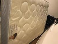 Double mattress sprung with memory foam