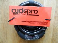 High Security Raleigh Cyclepro Flex 400 Combination Coil Cable