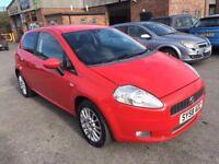 Fiat Grande Punto 1.4 8v Active Automatic Full Leather Seats 3dr 2008 (58 reg), Hatchback £1799