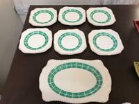 Sandwich plate and six side pllates