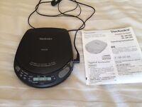 Technics Portable CD Player SL-XP160