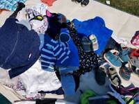 Job lot Clothes childrens and a few adult bits with tags
