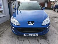 PEUGEOT 407 20HDI SPORT LEATHER , STUNNING CONDITION £1695