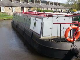 NARROWBOAT 45FT WITH LEISURE MOORING
