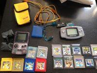 Game boy Pokemon bundle