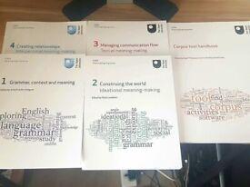 Open University E304 Exploring English Grammar complete course materials