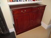 Antique style regency cabinet