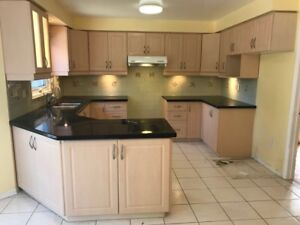 Kitchen cabinets and countertop for sale! Stove and others also!