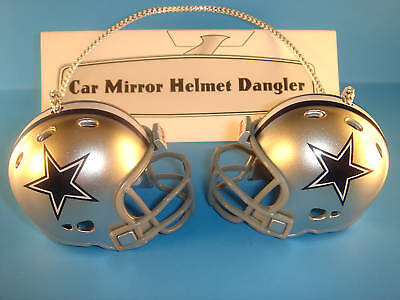 DALLAS COWBOYS CAR MIRROR NFL FOOTBALL HELMET DANGLER - HANG FROM ANYTHING #1!