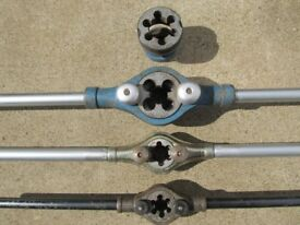 Conduit pipe threaders