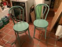 Two Ikea Thonet Style Chairs