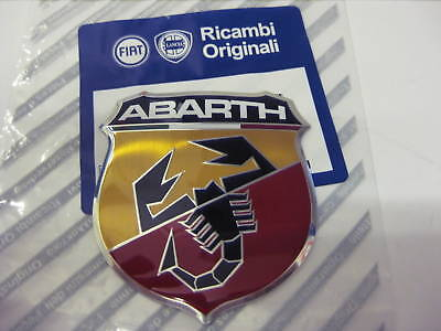 FIAT 500 FRONT GRILLE/BONNET BADGE ABARTH NEW & GENUINE