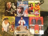 6x iranian persian language film dvds