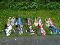 Football boots - range of sizes