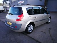 7 SEATER RENAULT GRAND SCENIC 1.5 DIESEL MANUAL IN CLEAN CONDITION. LONG MOT. FULL SERVICE HISTORY