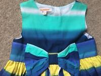 Blue Zoo Debenhams party dress age 2-3 years
