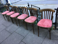 Vintage bentwood chairs.