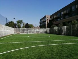 Brand new pitch in Tottenham. Weekly game Thursday 7:30pm needs players!