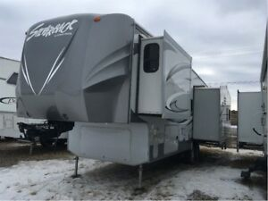 2012 Silverback by Cedar Creek 29RE