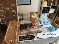 Wedding decorations / accessories bundle