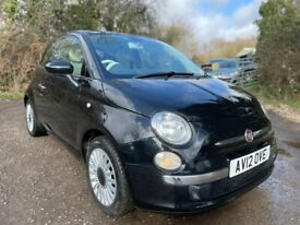 image for Fiat, 500, Hatchback, 2012, Manual, 1242 (cc), 3 doors