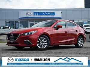 2014 Mazda MAZDA3 GS-SKY USB/SD CARD/ REARVIEW CAMERA, BLUETOOTH