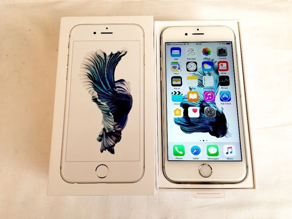 iPhone 6S 16GB Silver Colour Factory Unlocked sim free in box with all accessories for salein LondonGumtree - iPhone 6S 16GB Silver Colour Factory Unlocked sim free in box with all accessories for sale iPhone 6S 16GB Silver colour in very good condition as new and all in perfect order Comes in box with all accessories Its factory unlocked to all networks If...