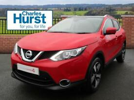 Nissan Qashqai N-CONNECTA DIG-T XTRONIC (red) 2017-06-27