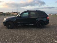 "BMW X5 E70 57 REG..BLACK WITH BLACK LEATHER 20"" BMW ALLOYS ....... REDUCED!!"