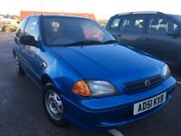 Suzuki swift 1L Petrol low milage MOT